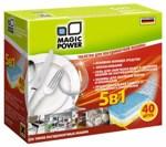 Таблетки для посудомоечных машин MAGIC POWER MP-2023 5 В 1, 40 ШТУК Код29564 фото