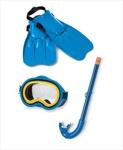 Набор маска, трубка, ласты 55952 Intex Код17286 фото